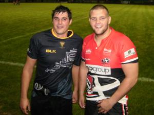 Nathan Chapman and Jack Andrews