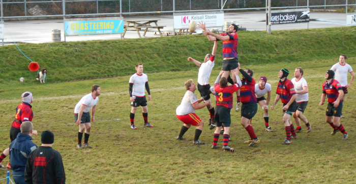 The line out before the try...