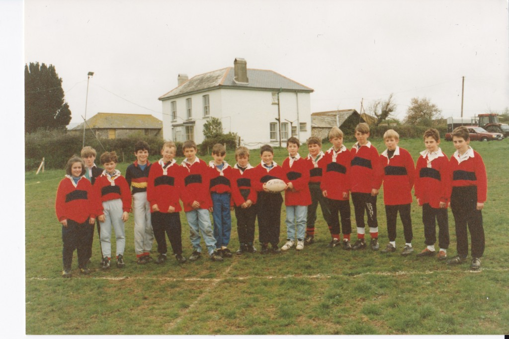 roseland rfc mini rugby team