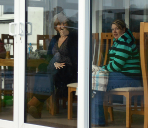 We won't have a conservatory - but we will be smiling!